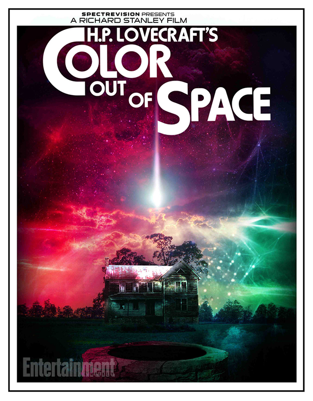 poszter: color out of space (2016)