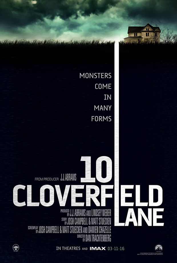 trailer + poszter: 10 cloverfield lane (2016)