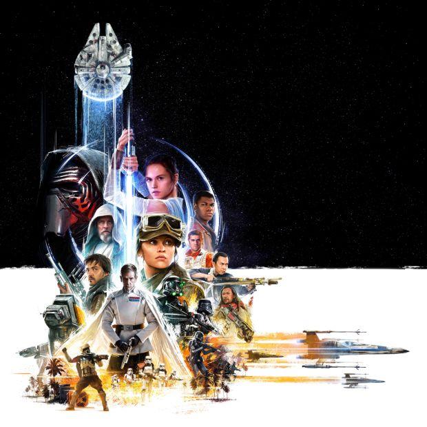 star wars-ünnep: közös poszteren az ébredő erő és a zsivány egyes