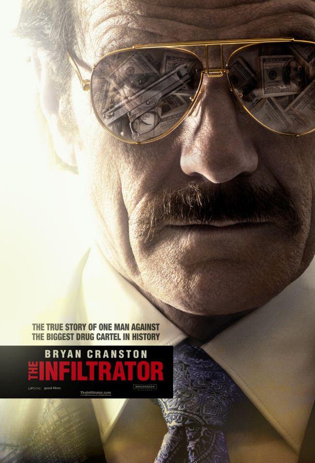 trailer + filmklip + poszter: the infiltrator (2016)