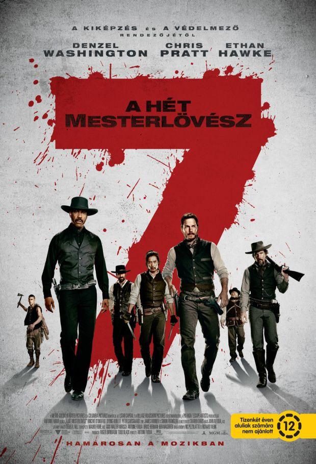 trailer + magyar és eredeti poszter: a hét mesterlövész [the magnificent seven] (2016)