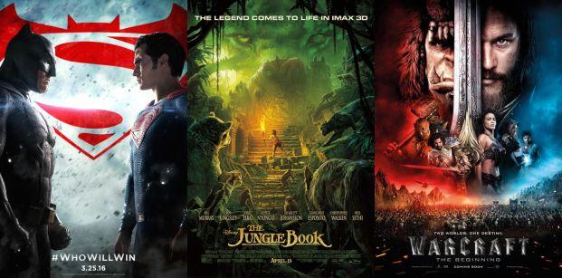 2016 eddigi legdrágább filmjei