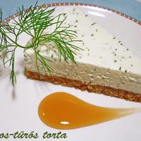 Kapros-túrós torta