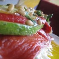 Cukkíni lasagne – sütés nélkül