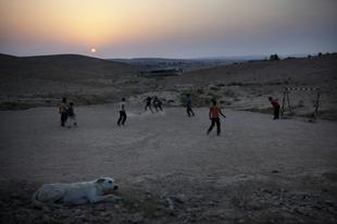 BL-meccs a sivatagban