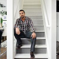 Napi-kisszínes: Painted stairs