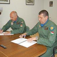 Parancsnokváltás az MH 59. Szentgyörgyi Dezső Repülőbázison