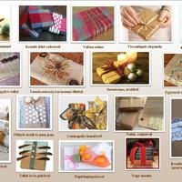 Ötletek ajándék könyvek csomagolásához!