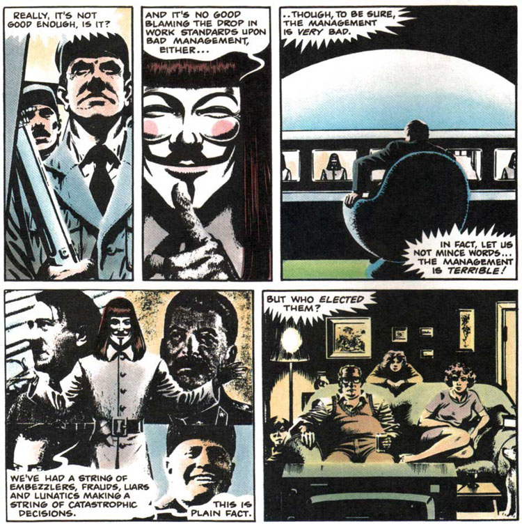 V for Vendetta strip  Wikipedia