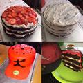 Epres-mascarponés csokoládé torta