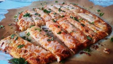 Lisztmentes sajtos rúd karfiolból