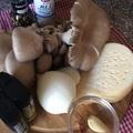Gomba sajttal - soko kvelit