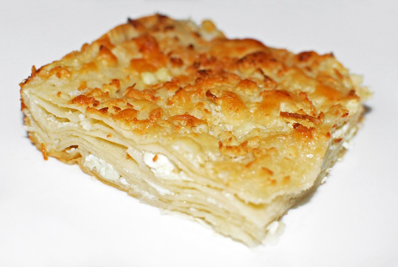 Achma - აჩმა - grúz sajtos lasagna