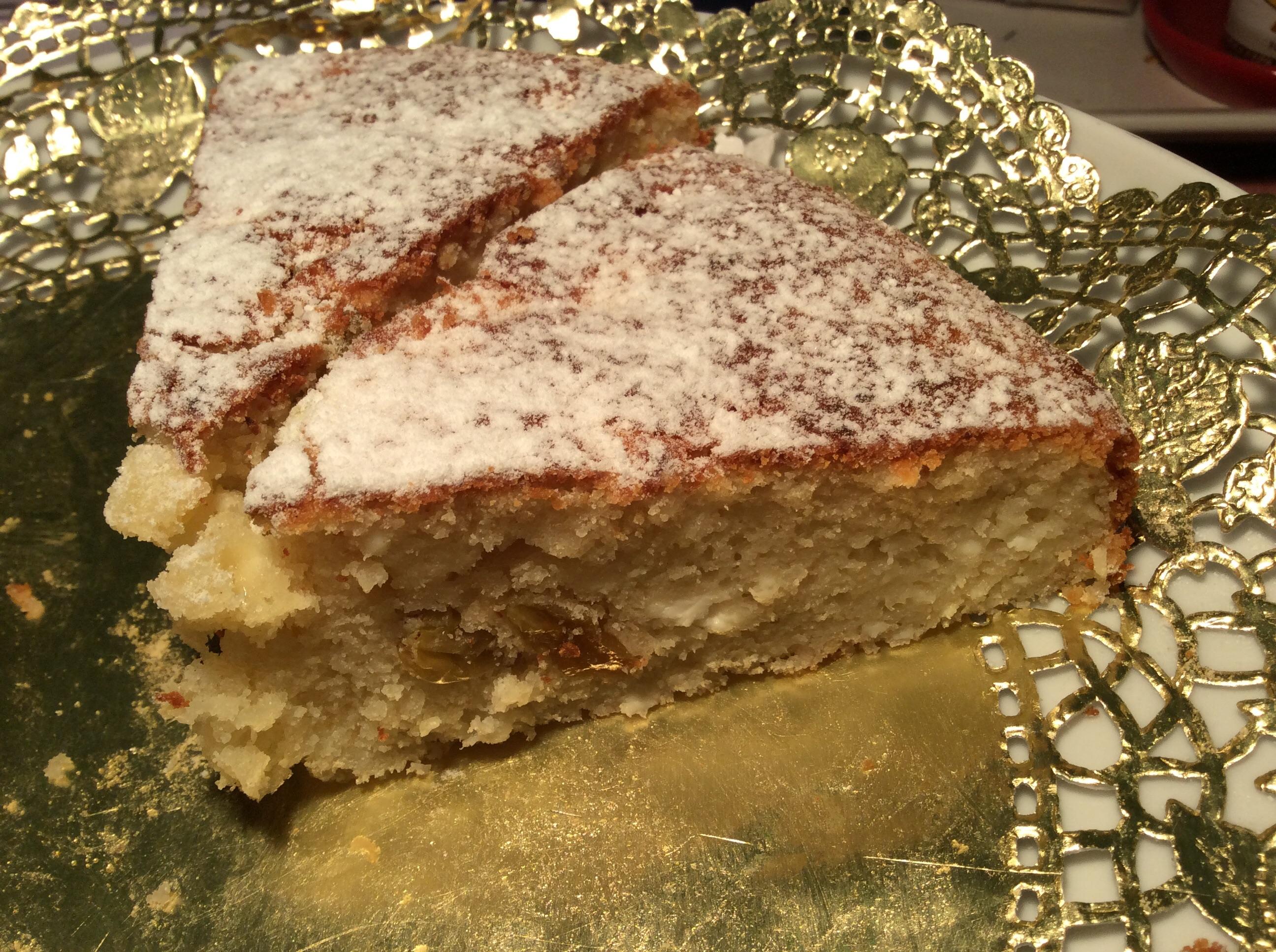Túrós-mazsolás torta - ფაფუკი კექსი ხაჭოთი