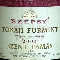 Szepsy Szent Tamás Furmint 2003
