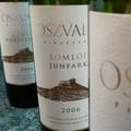 Három Oszvald-bor