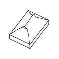 Tetőforma: oromzatos kontytető, másképpen