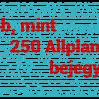 Már több, mint 250 Allplanról szóló bejegyzést találsz itt