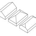 Tetőforma: nyeregtető, kontytető és csonka kontytető