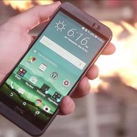 HTC One M9 vs lángszóró