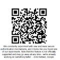 Biztonságos Google bejelentkezés QR-kóddal