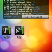 Mi megy most a Tv-ben? widget