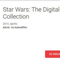 Star Wars kollekció - szinte ingyen!