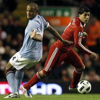 A Man. City megfogyatkozva is pontot rabolt az Anfielden