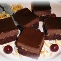 Meggyes csokis zabkocka