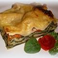 Spenótos lasagne