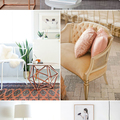 Rose Gold Home Decor ♥