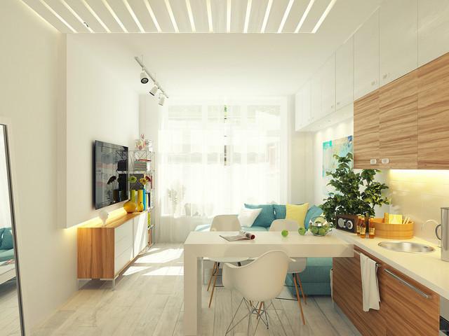 Egy nagy konyha kis helyen is elfér... ♥