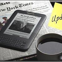 Amazon Kindle frissítés a kanyarban
