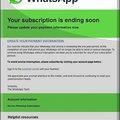 WhatsApp előfizetés hosszabbítás vagy mégsem