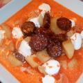 Tejfölös krumplileves kolbásszal