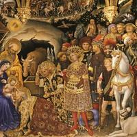 Gentile da Fabriano Királyok imádása Firenze, Uffizi-Képtár