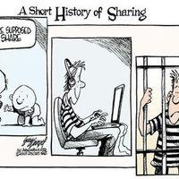 A megosztás rövid története