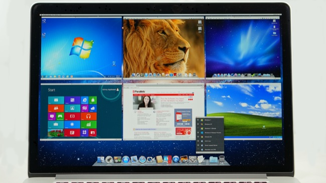 Photo of Retina Display running PD7 - English .jpg