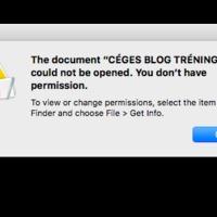 Mit tegyél, ha nem enged megnyitni egy fontos fájlodat a macOS Sierra?