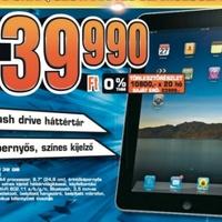 Nem kapható Magyarországon az iPad, pedig de