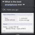 A Siri szerint a Nokia a legjobb okostelefon
