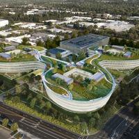 Ilyen lesz az Apple legújabb épülete (NEM az űrhajó, ez még annál is újabb)
