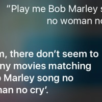 A Siri még mindig full hülye