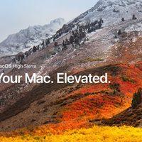 Itt a macOS High Sierra 10.13.2