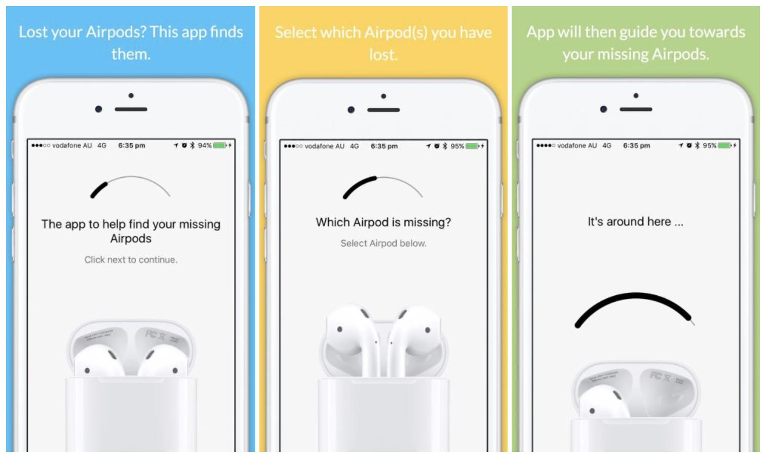 Az app, ami megtallja a kiesett Airpodsot, s amit gyorsan le is tiltott az Apple