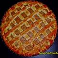 Körtés rácsos pite