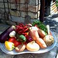 Az én kerti sütőm, és egy kis Zsé-féle alapanyag a főzéshez...