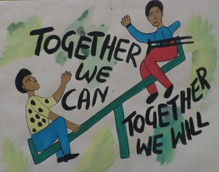 Together we can, together we will