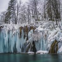 Utoljára látható! A befagyott Plitvicei-tavak! + VIDEÓ