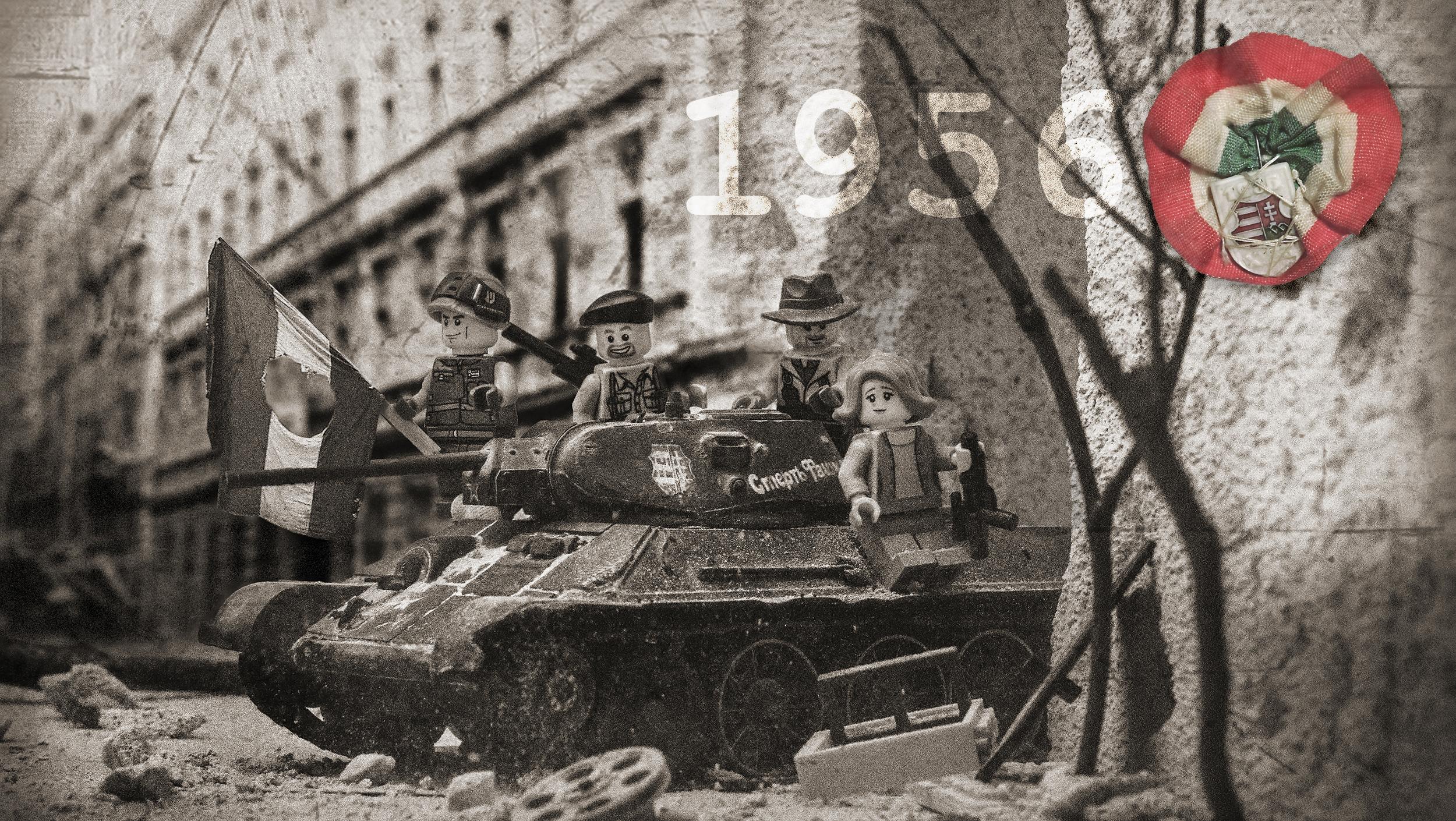 '56-os LEGO fotók - Forradalmi minisorozat